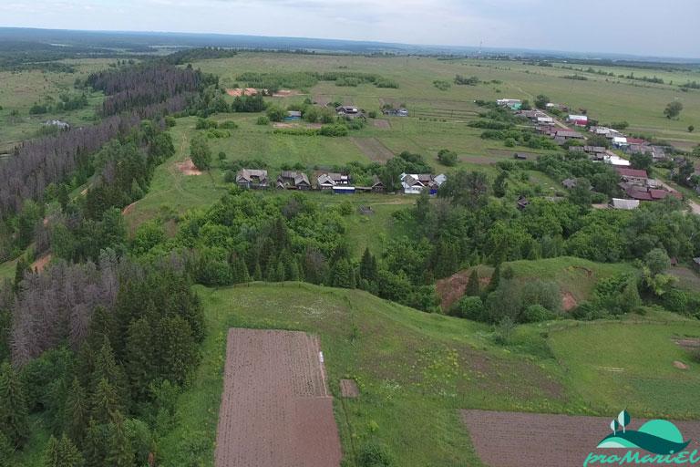 Шарибоксад — деревня в Волжском районе