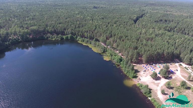 Шарьер — хорошее озеро в Звениговском районе