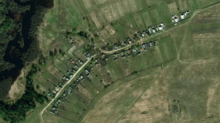 Изеркино — деревня на краю реки Арда