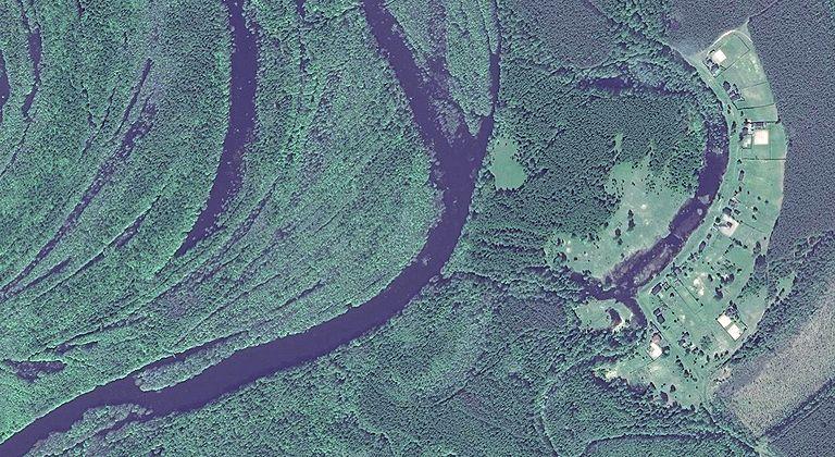 Кромка — деревня в Юринском районе