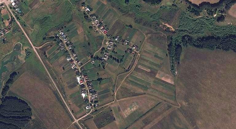 Куршембал — деревня в Волжском районе