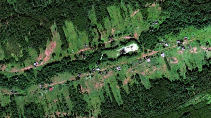 Куржам — деревня в Юринском районе