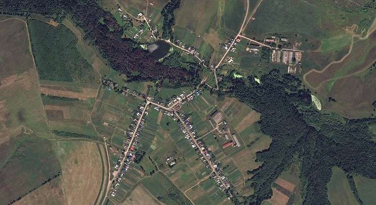 Нуршари — деревня в Волжском районе