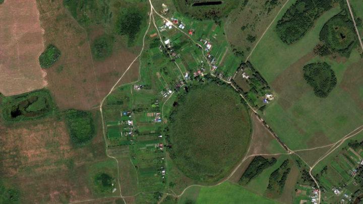 Красная Горка — деревня в Волжском районе