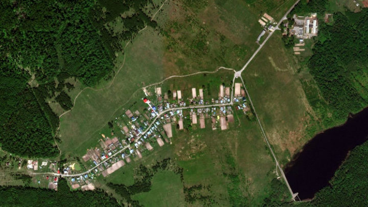Большие Шапы — деревня в Медведевском районе