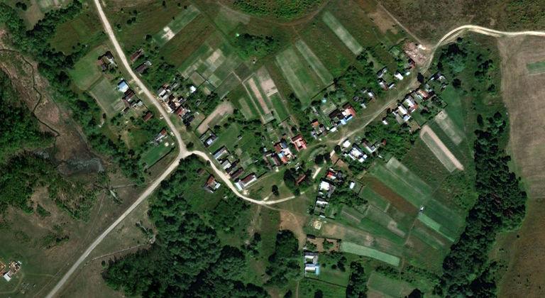 Китунькино — деревня в Волжском районе