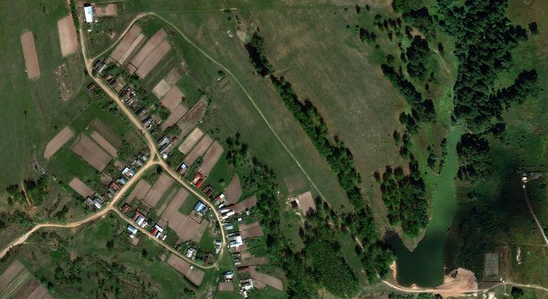Отымбал — деревня в Волжском районе