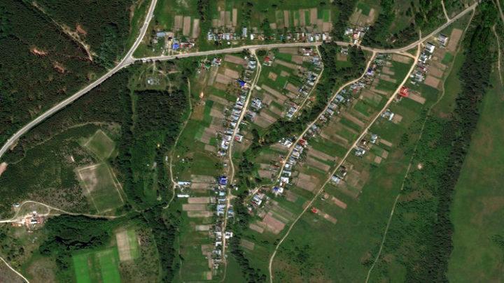 Старые Параты — деревня в Волжском районе