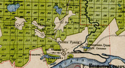Окрестности села Ахмылово (Коротни) в 1912 году