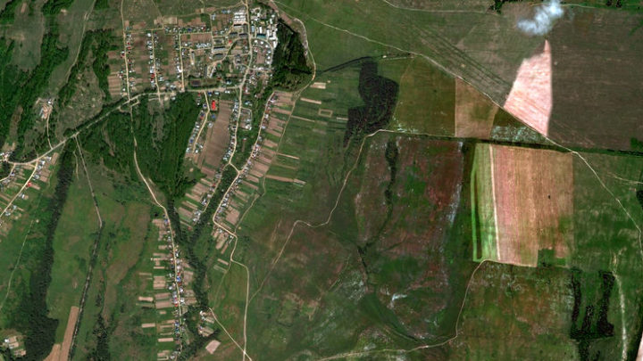 Новые Параты — село в Волжском районе