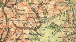 Окрестности выселка Сарапаевъ в 1792 году