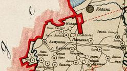 Окрестности деревни Ямолино в 1912 году