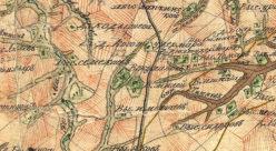 Окрестности выселка Кулаково в 1792 году