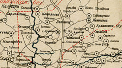 Окрестности села Кулаково в 1912 году