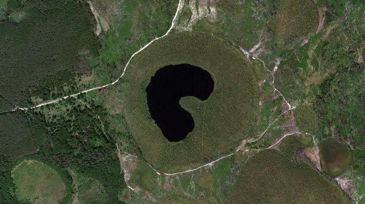 Водопойное — озеро в Юринском районе