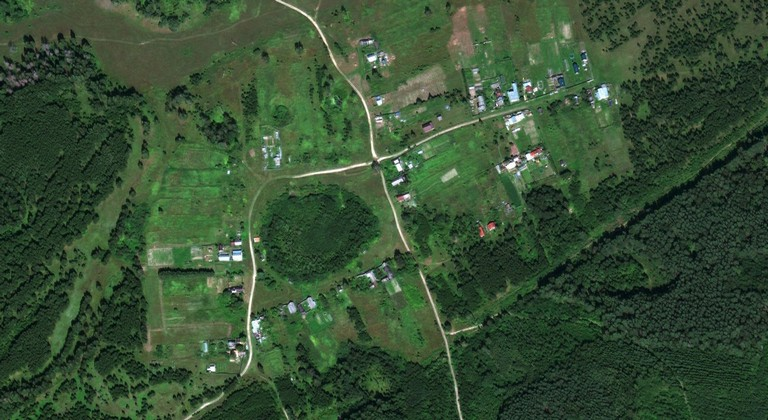 Александровка — деревня в Волжском районе