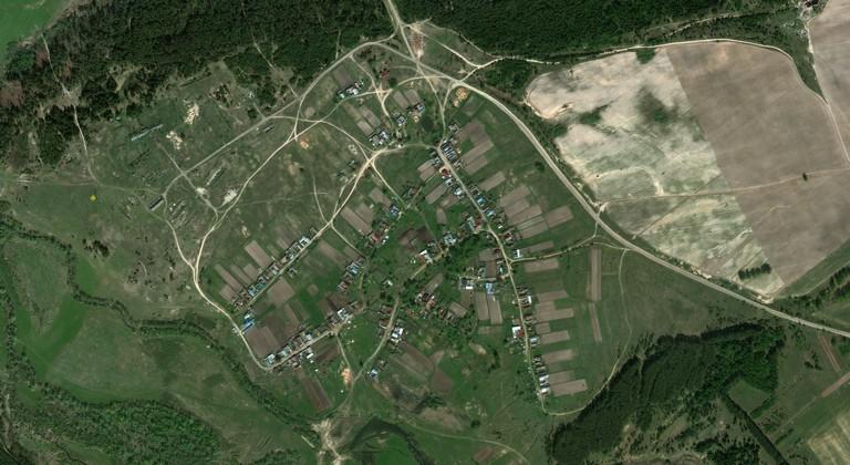 Большая Сосновка — деревня в Волжском районе