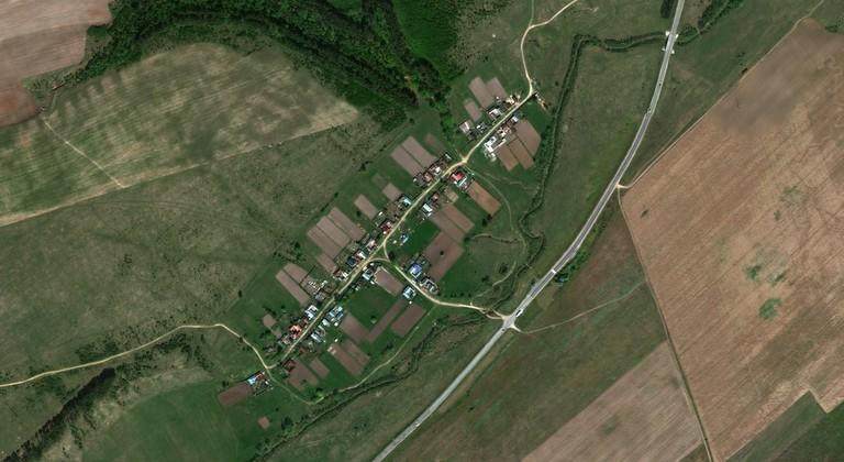 Малая Сосновка — деревня в Волжском районе