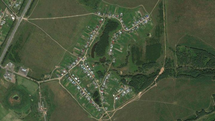 Малые Параты — деревня в Волжском районе