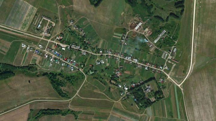 Учейкино — деревня в Волжском районе