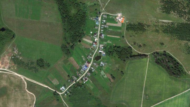 Елагино — деревня в Волжском районе