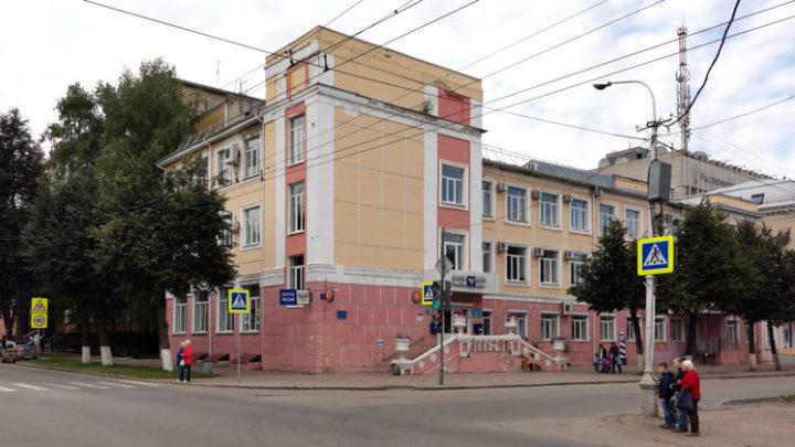 Здание главпочтамта Йошкар-Олы