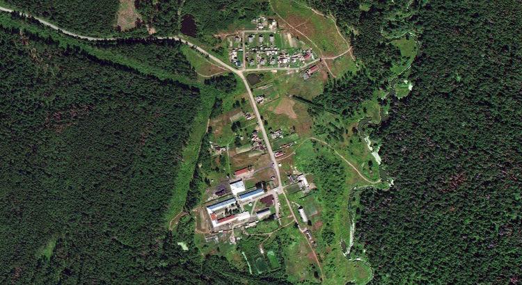 Зеленый — поселок в Советском районе